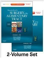Surgery of Alimentary Tract Vol 1 & 2 Shackelford