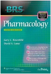 Board Review series Pharmacology. Rosenfeld. Williams & Wilkins.