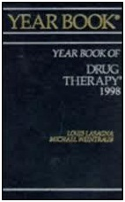 Yearbook of Drug Therapy 1998 by LOUIS, ED. LASAGNA