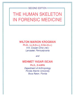 Krogman W.M.: The Human Skeleton in Legal Medicine.