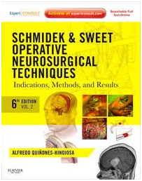 Schmidek and Sweet: Operative Neurosurgical Techniques 2-Volume