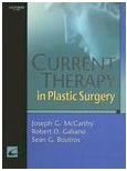 Mc Carthy: Current therapy in Plastic surgery
